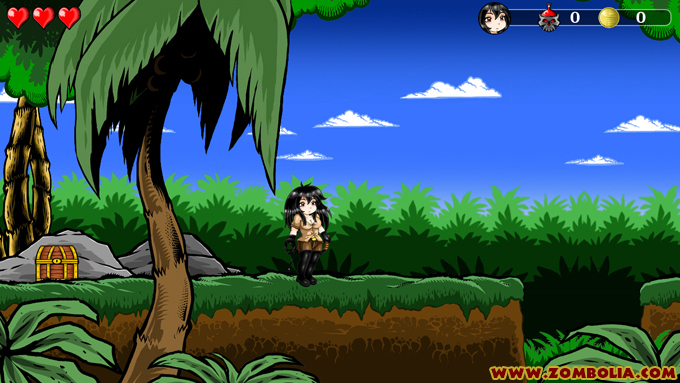 2d Jungle game